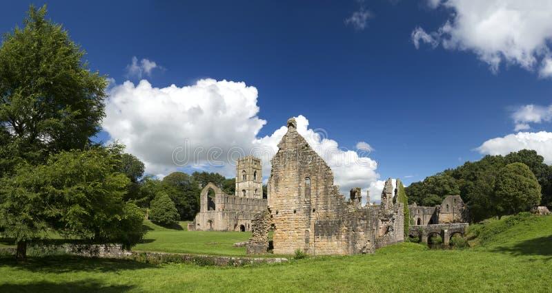 Fonteinenabdij, North Yorkshire, Engeland, het Verenigd Koninkrijk royalty-vrije stock afbeelding