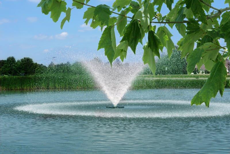 Fontes de água fotos de stock