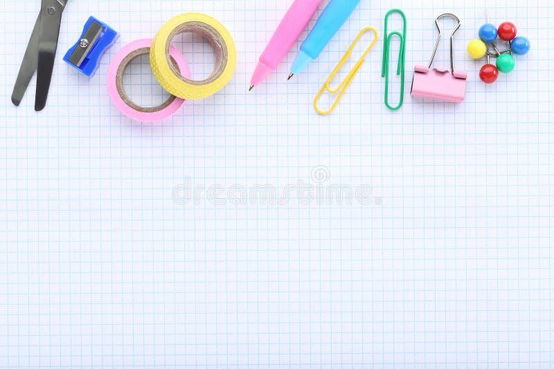 Fontes de escola foto de stock