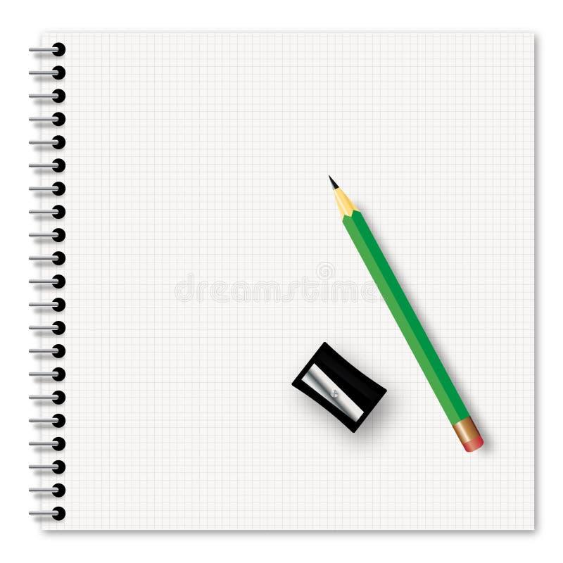 Fontes de escola ilustração stock