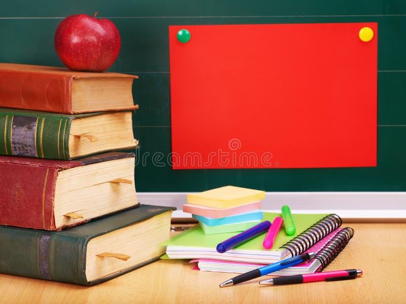 Fontes de escola. fotografia de stock