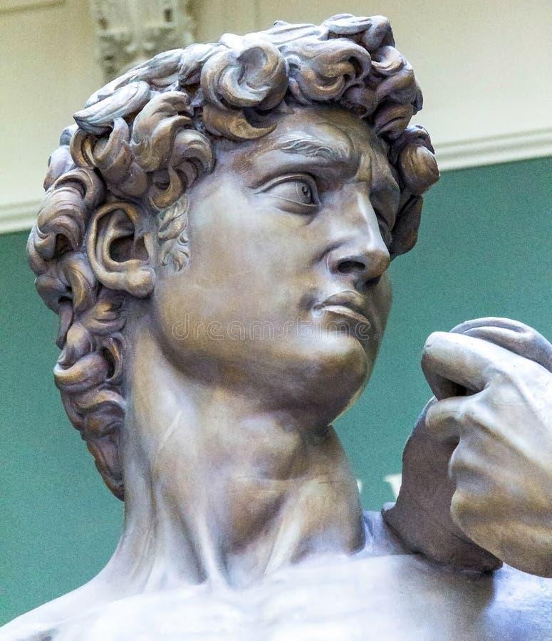 Fontes des statues de David par Michaël Angelo image libre de droits