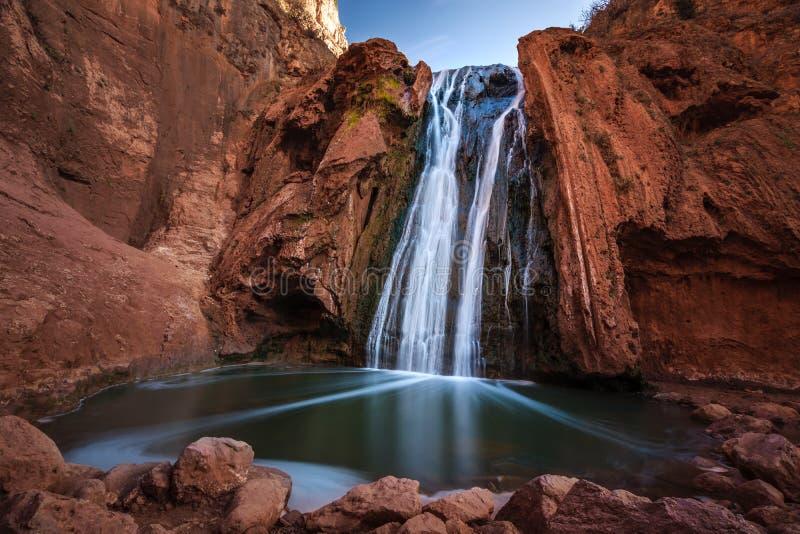 Fonti Oum er Rbia, parco nazionale di Aguelmam Azigza, Marocco immagini stock