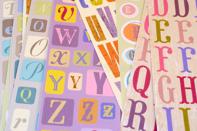 Fonts Stock Images