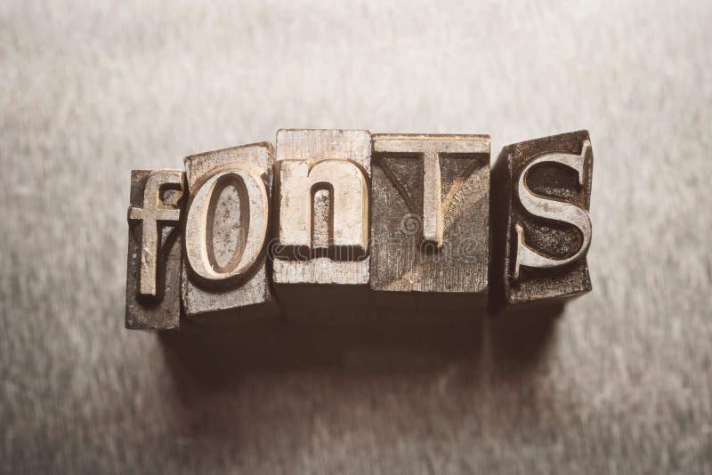 Download Fonts stock image. Image of design, headline, up, letter - 30368165