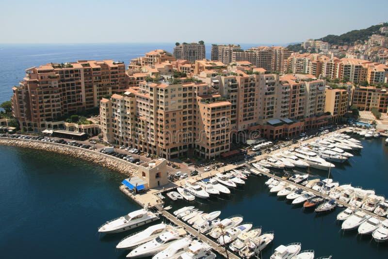 Fontvieille, Monaco stockbilder