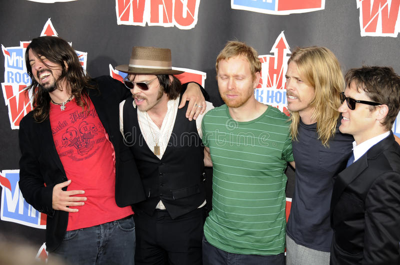 Download Foo Fighters On The Red Carpet. Editorial Stock Image - Image: 12739939