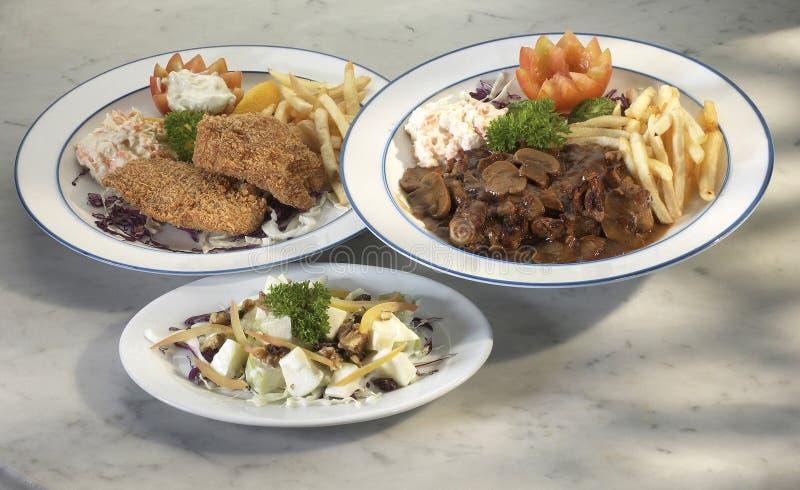 Download Food stock photo. Image of onion, fish, garnish, sauce - 14854708
