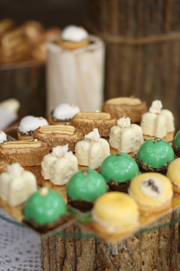 Food appetizers buffet delicious sweets festive party. Food appetizers buffet selection of delicious sweets at a festive party, banquet, celebration, tasty, eat royalty free stock photo