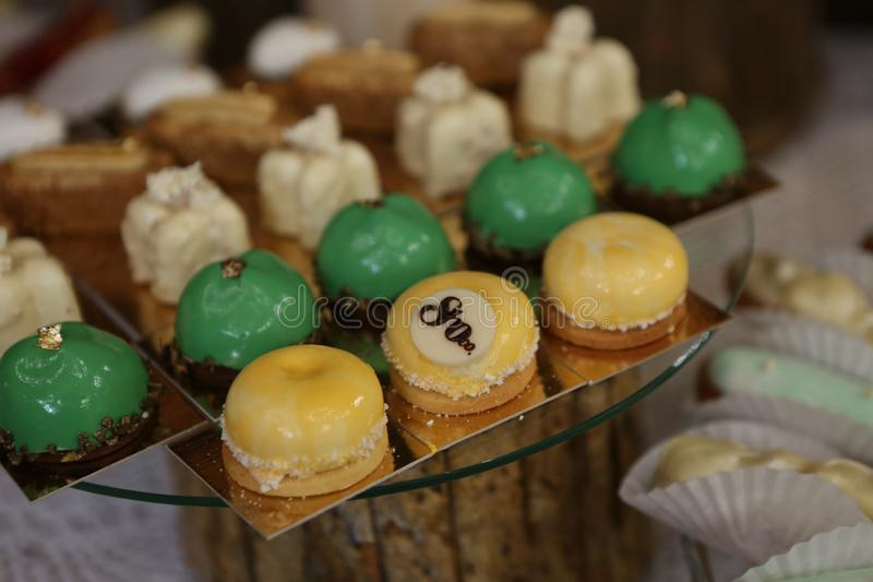 Food appetizers buffet delicious sweets festive party. Food appetizers buffet selection of delicious sweets at a festive party, banquet, celebration, tasty, eat royalty free stock image