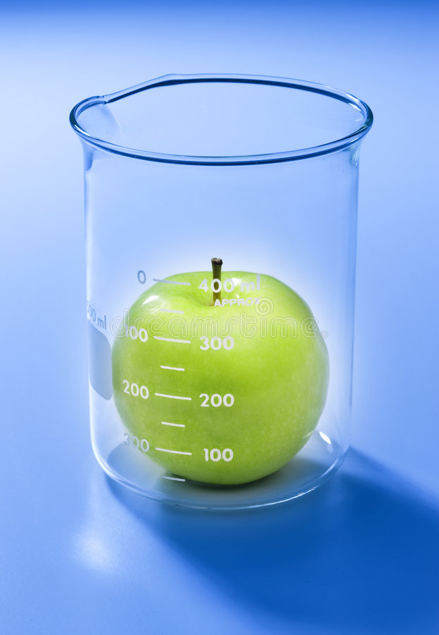 Food Apple Testing Technology royalty free stock photography