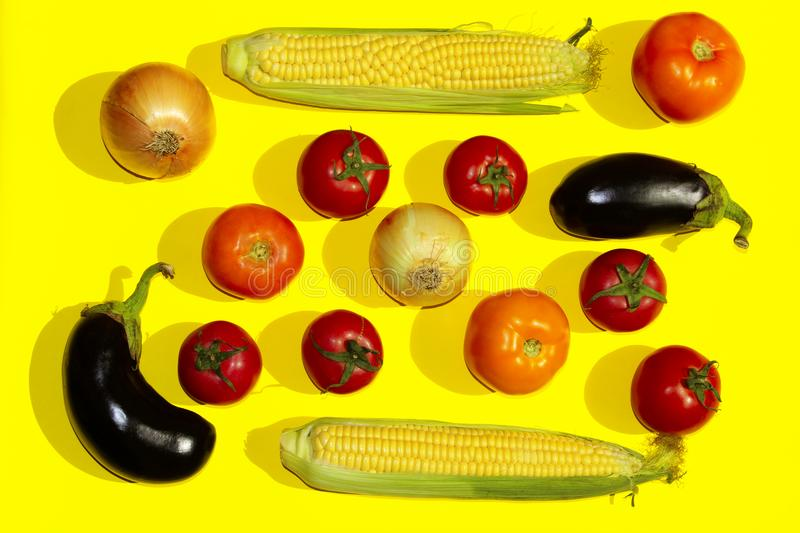 Food Background. Vegetables Assortments. stock image