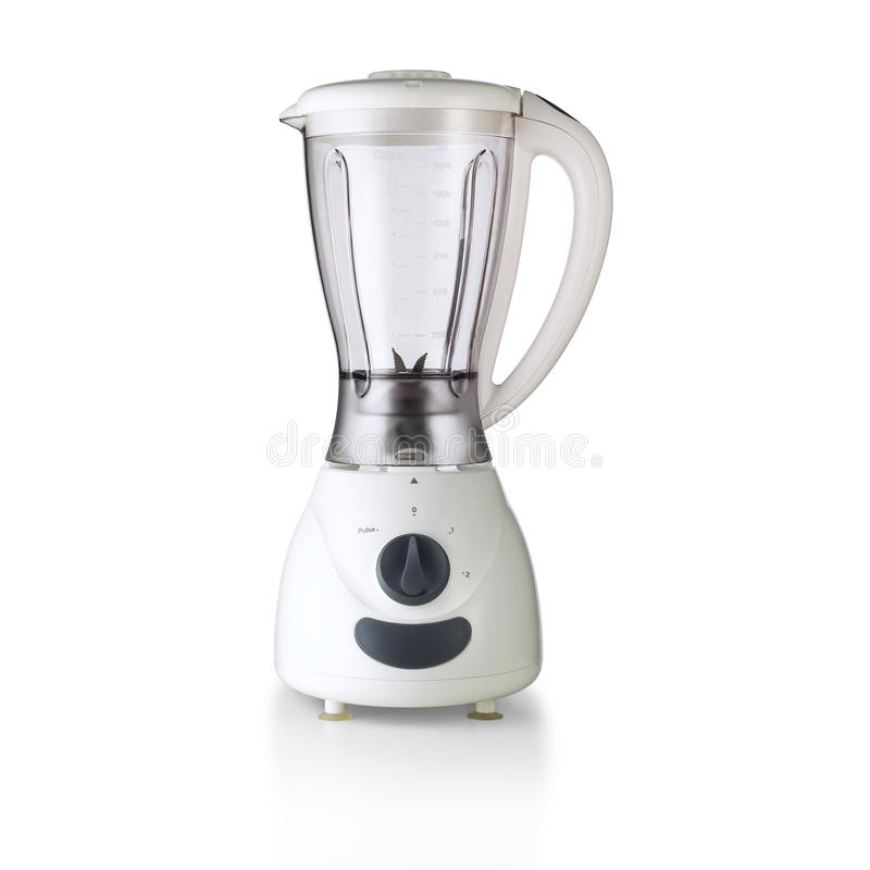 Food Blender. With clipping paht royalty free stock photo