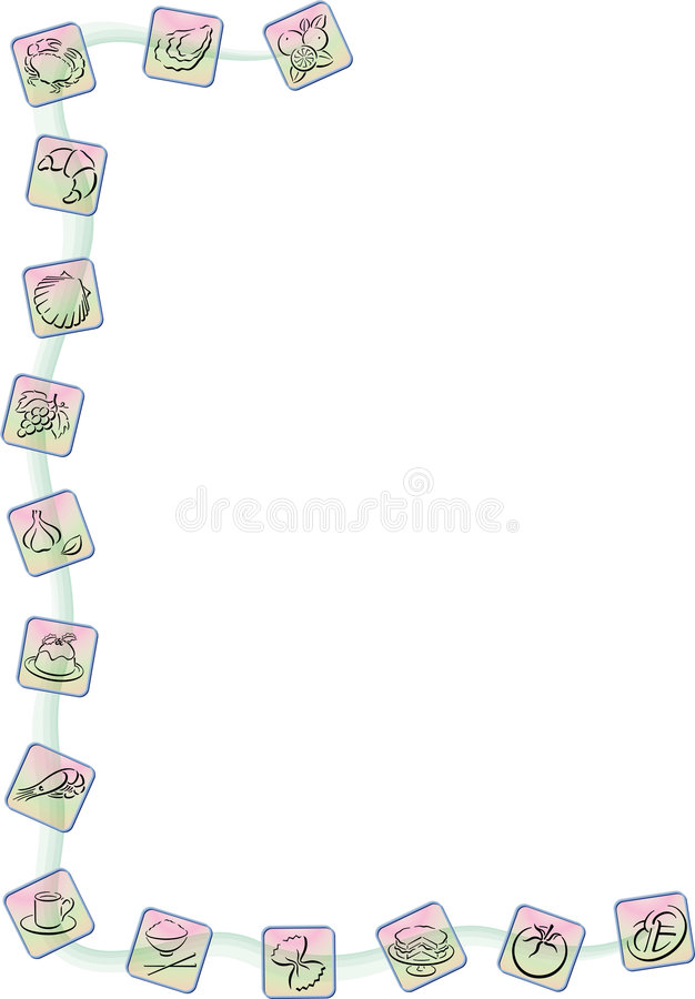 Download Food border stock vector. Image of concept, bread, business - 6202567