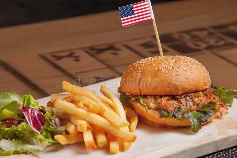 Food Burger stock images