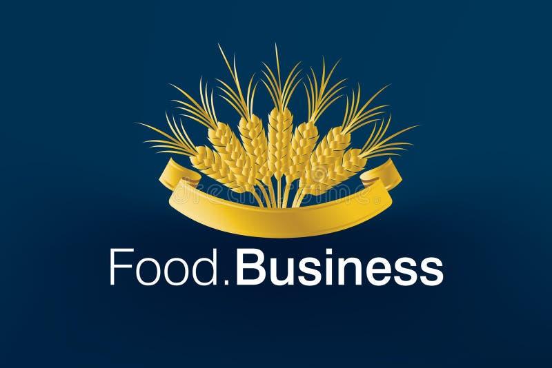Food Business Logo royalty free illustration