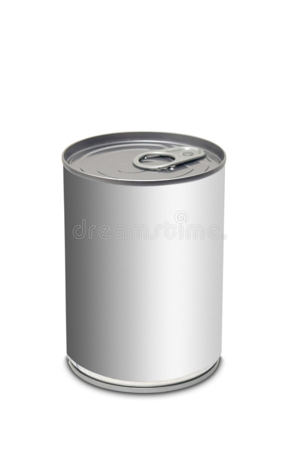 Food can stock illustration