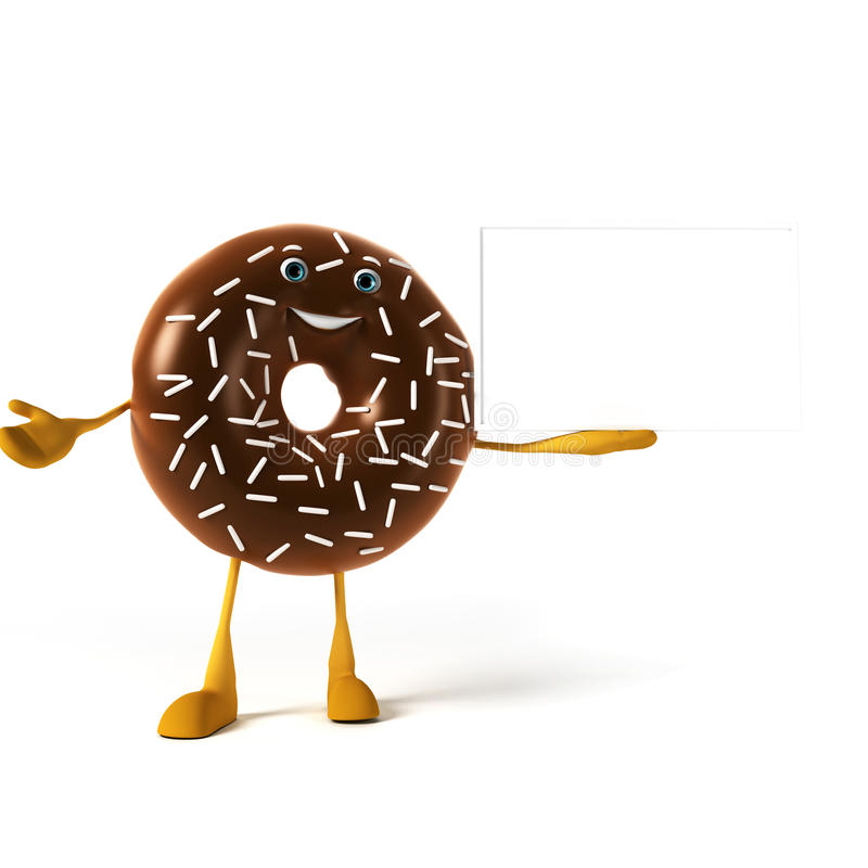 Download Food Character - Donut Royalty Free Stock Photos - Image: 28712048