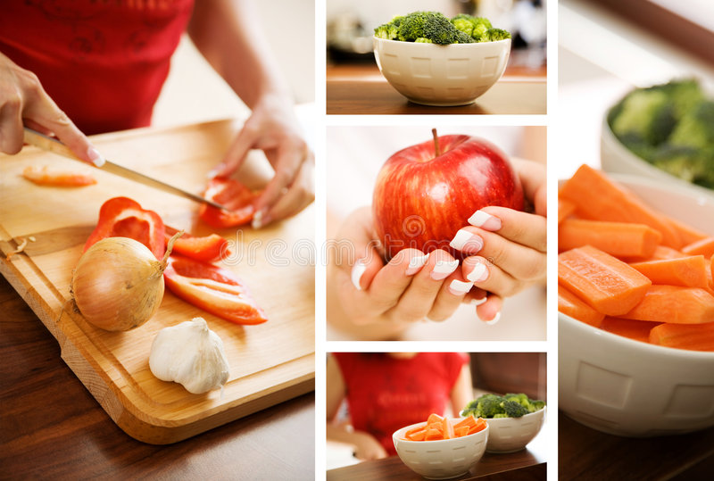 Download Food Collage Stock Images - Image: 7572464