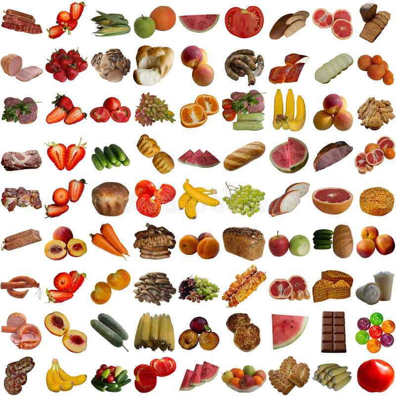 Download Food Collection. Stock Photography - Image: 33813672