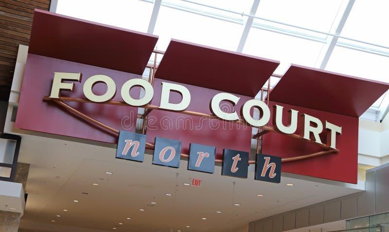Food court stock photo