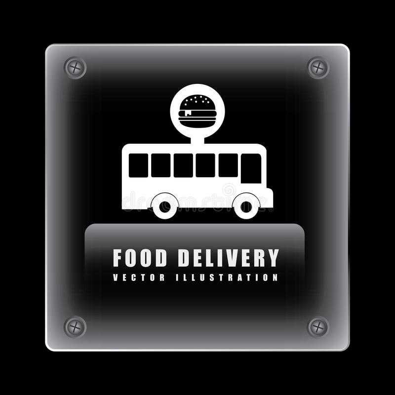 Food delivery design. Vector illustration eps10 graphic royalty free illustration