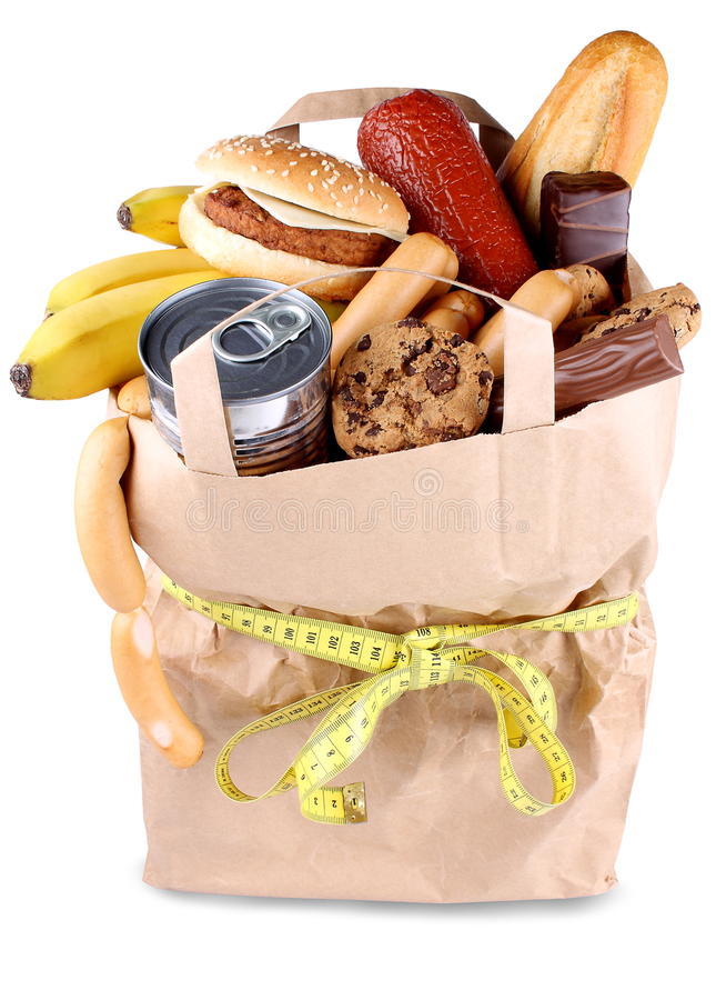 Food and diet concept, consume less food