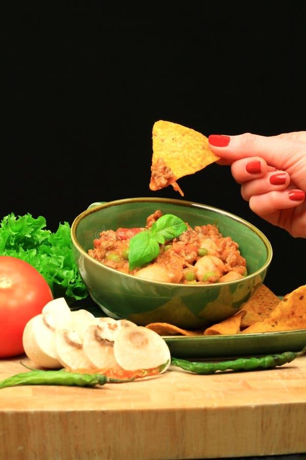 Food dish 6 stock photo