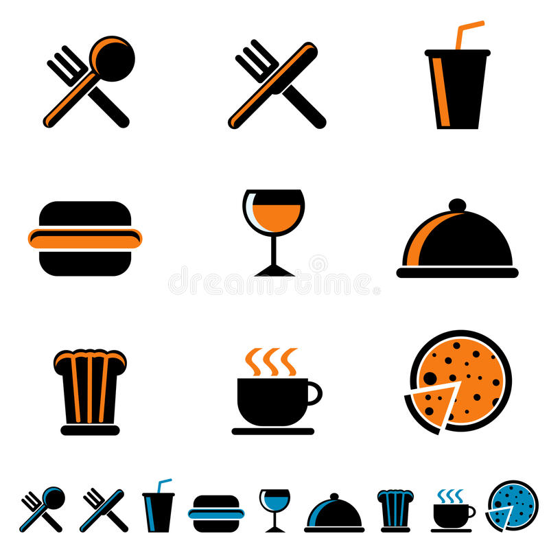 Download Food drink icon stock vector. Illustration of dinner - 18366866
