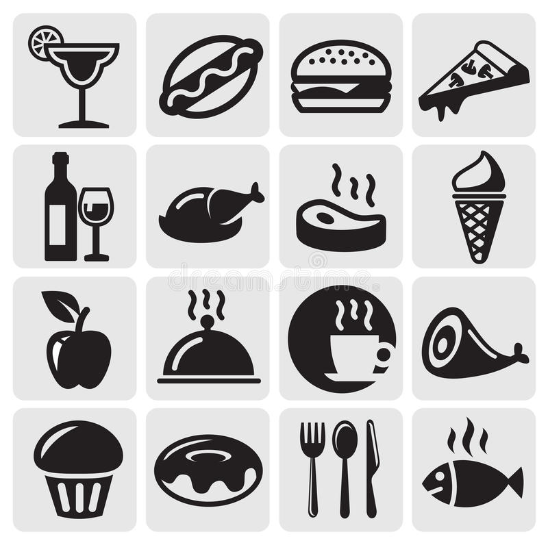 Food Drink icons vector illustration