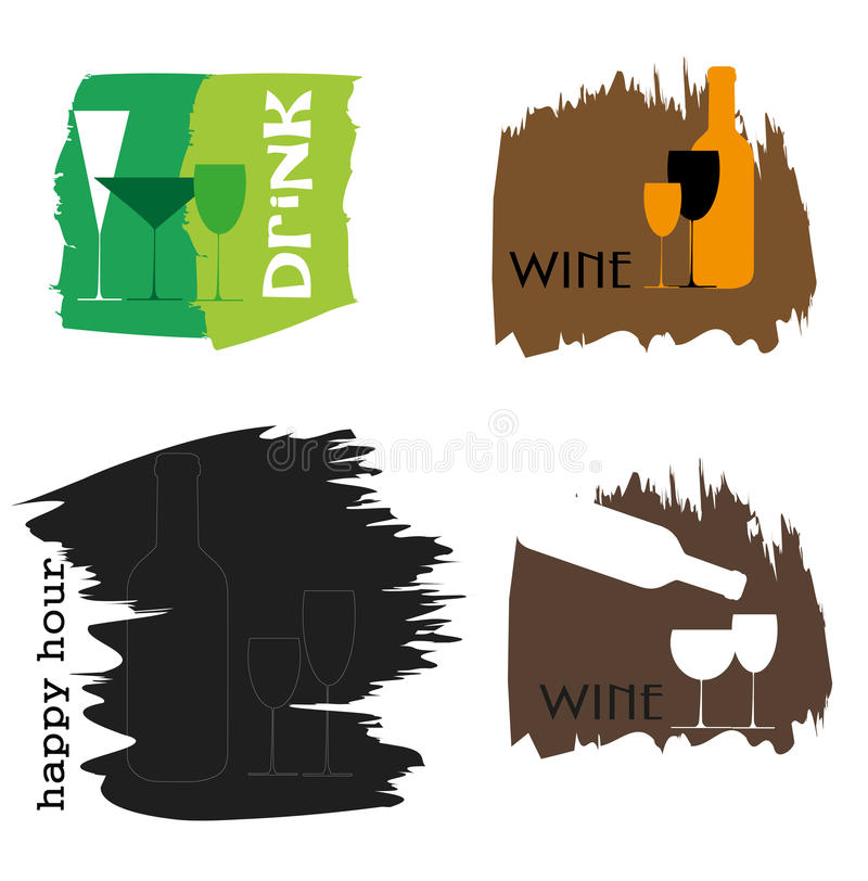 Food and drink vector illustration