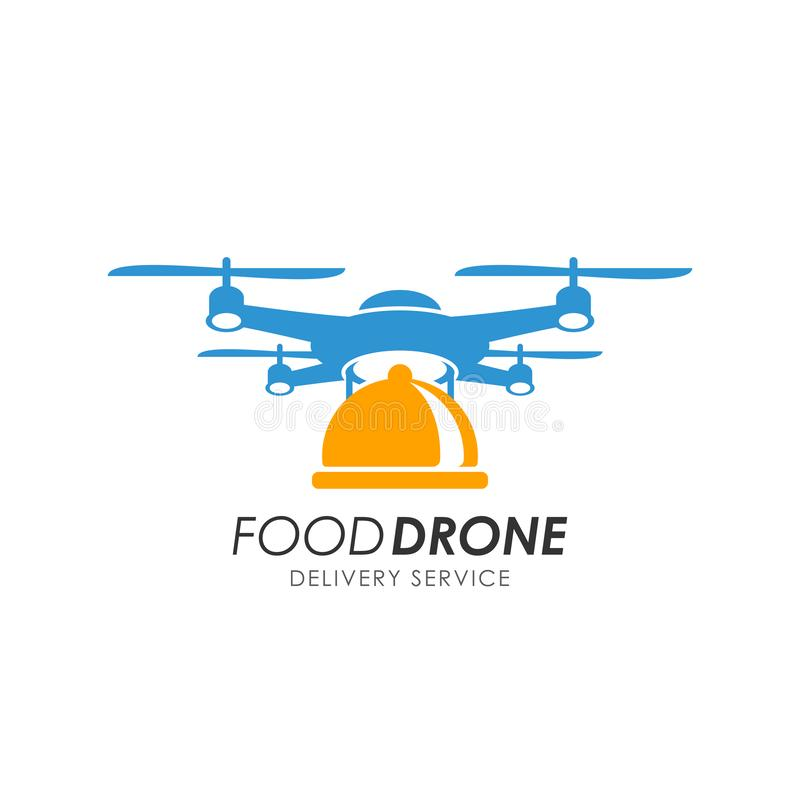 Drone With Time Bomb Stock Illustration. Illustration Of