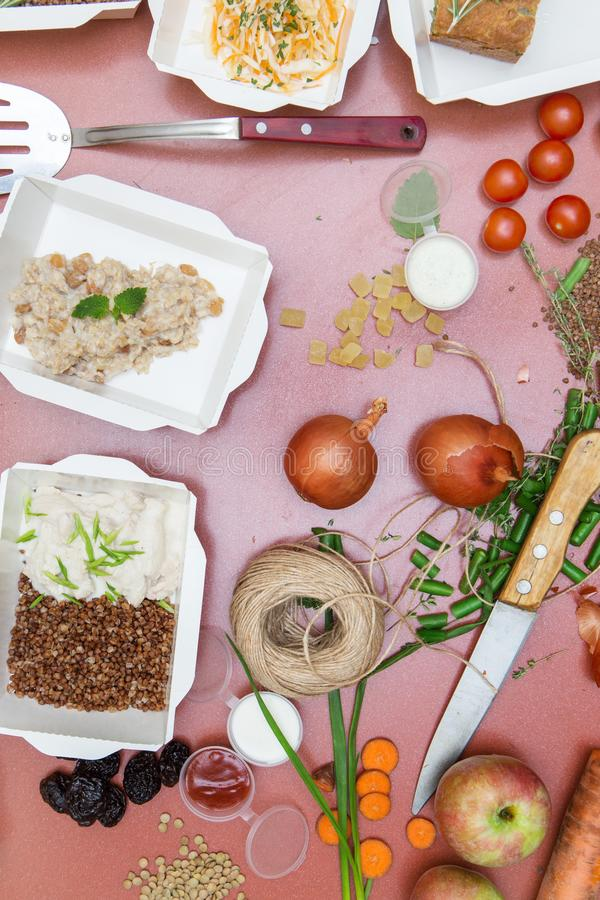 Food for fitness stock image