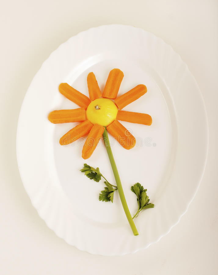 Food flower stock images