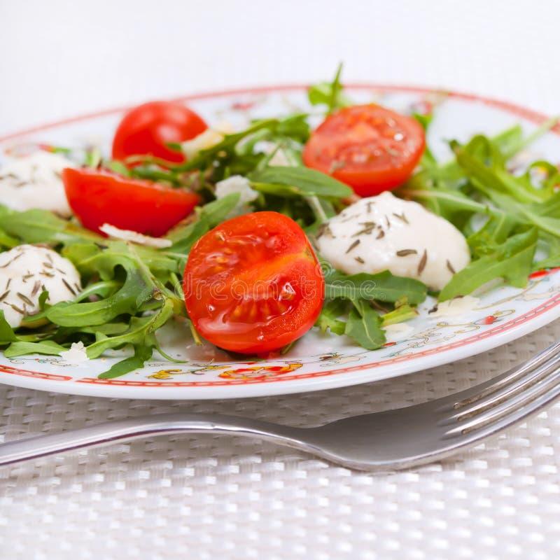 Food - fresh salad royalty free stock photo