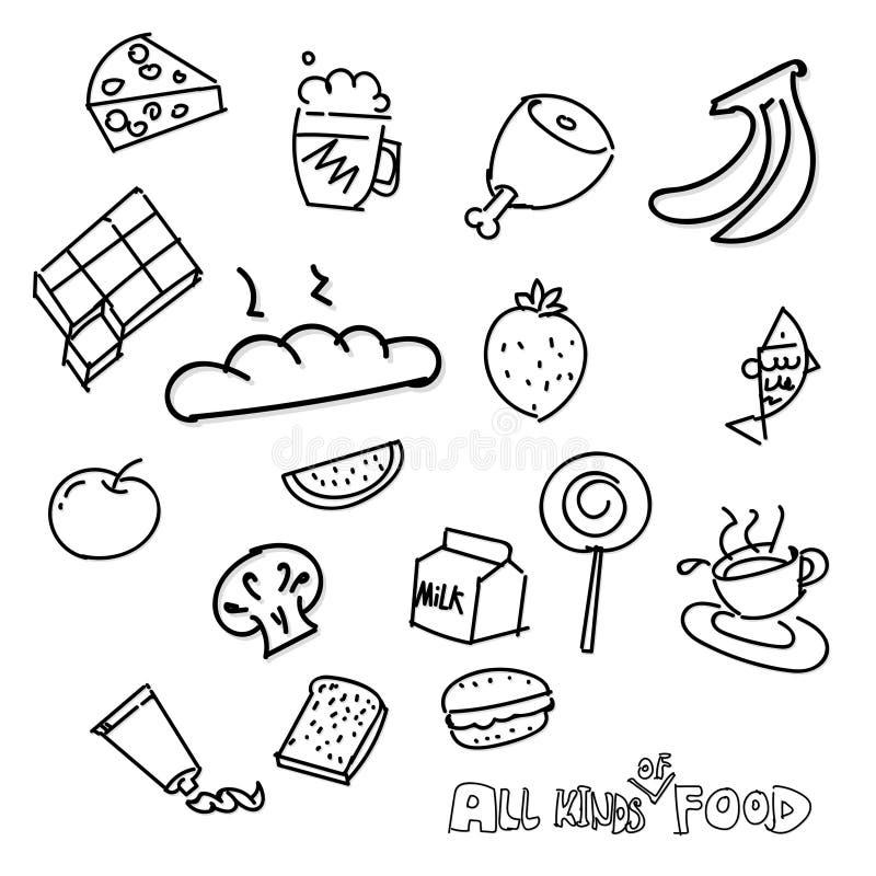 Food royalty free illustration