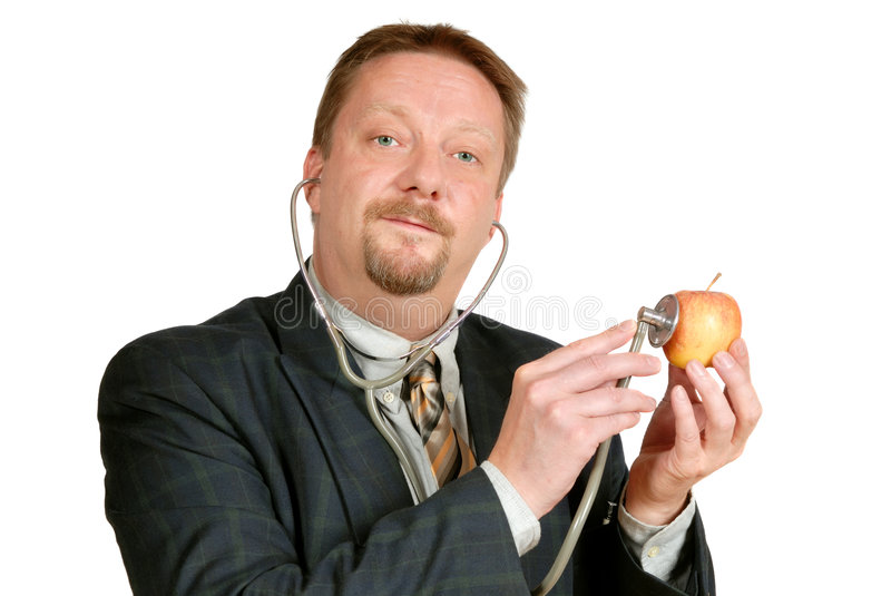 Download Food health inspector stock photo. Image of doctor, examining - 3175874