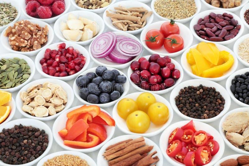 Food for a Healthy Heart stock photos