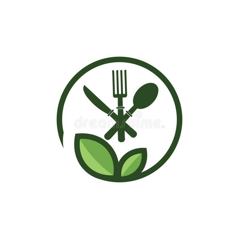 Food House, Restaurant Logo Template, шаблон дизайна логотипа Home Food иллюстрация вектора