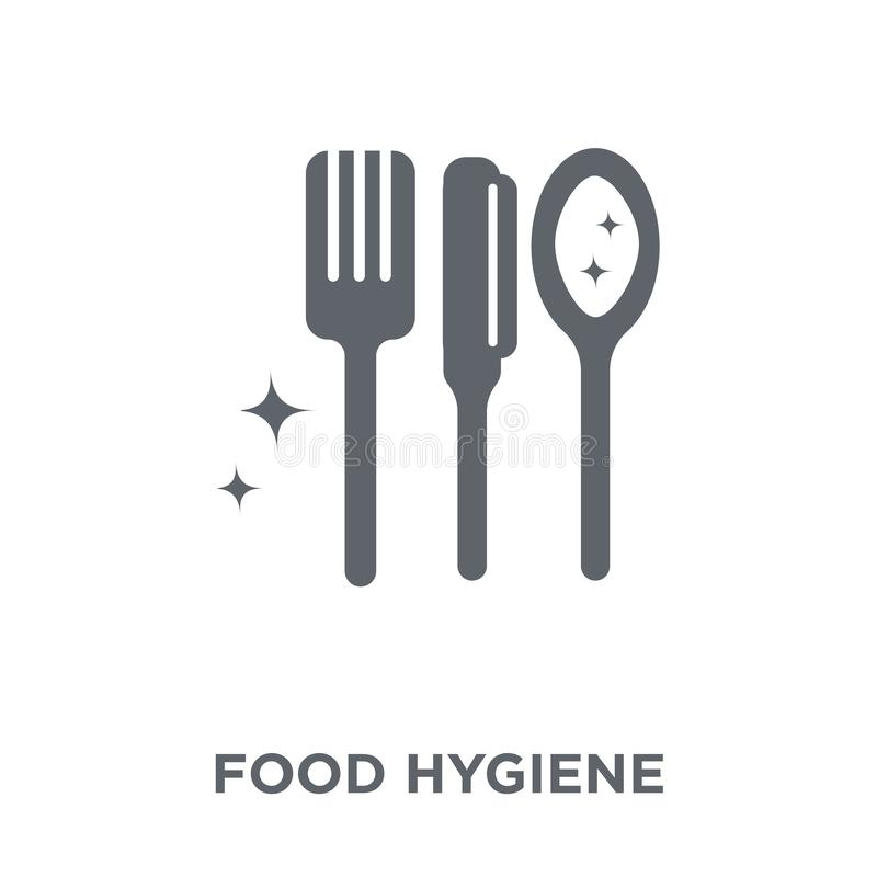 food hygiene icon from Hygiene collection. vector illustration