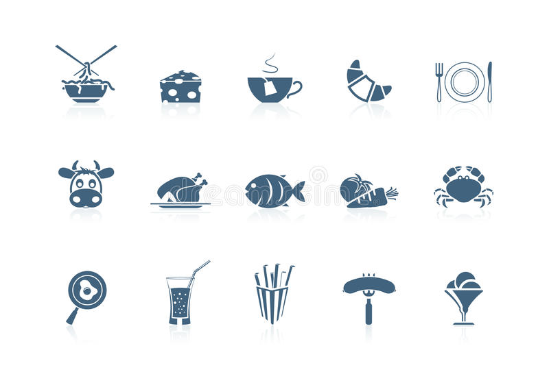 Food icons 2 | piccolo series. Food icons part 2 | piccolo series vector illustration