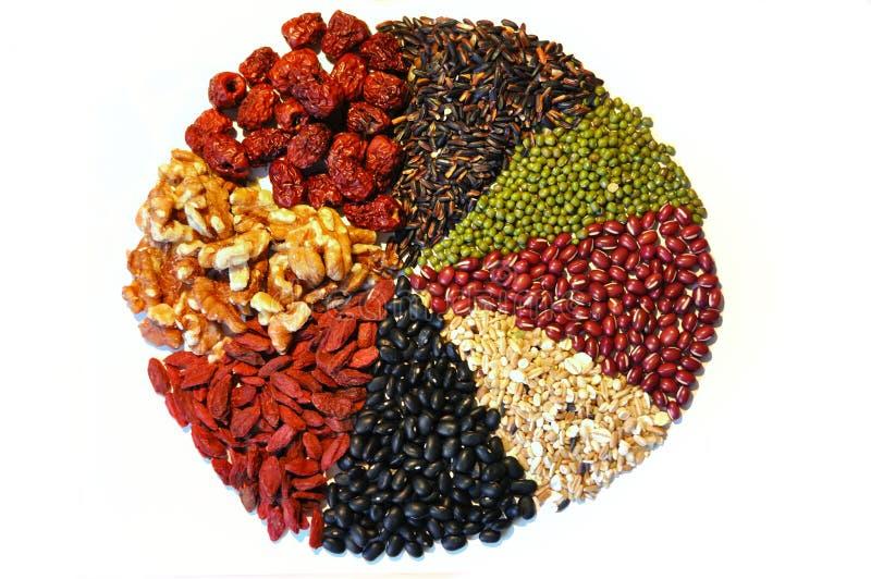 Food ingredient. Various food ingredient for health royalty free stock photos