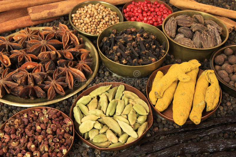 Download Food ingredients stock image. Image of allspice, diverse - 17960531