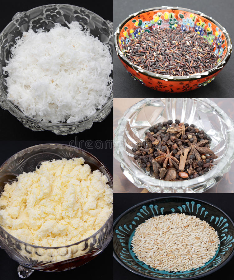 Download Food Ingredients stock image. Image of smashed, grated - 21350057
