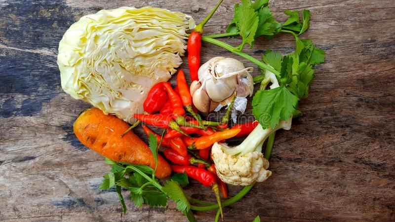 Food ingredients for fast cooking royalty free stock photography