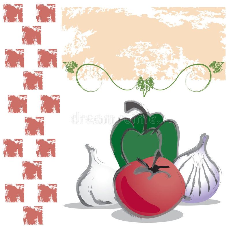 Download Food: Italian Vegetables stock vector. Illustration of italian - 4772038
