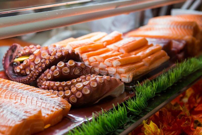 Food and Japanese food sashimi royalty free stock photo