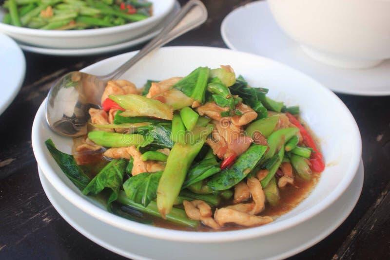 Food in Koh Samui stock image