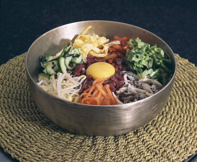 Food. Korean royalty free stock photography