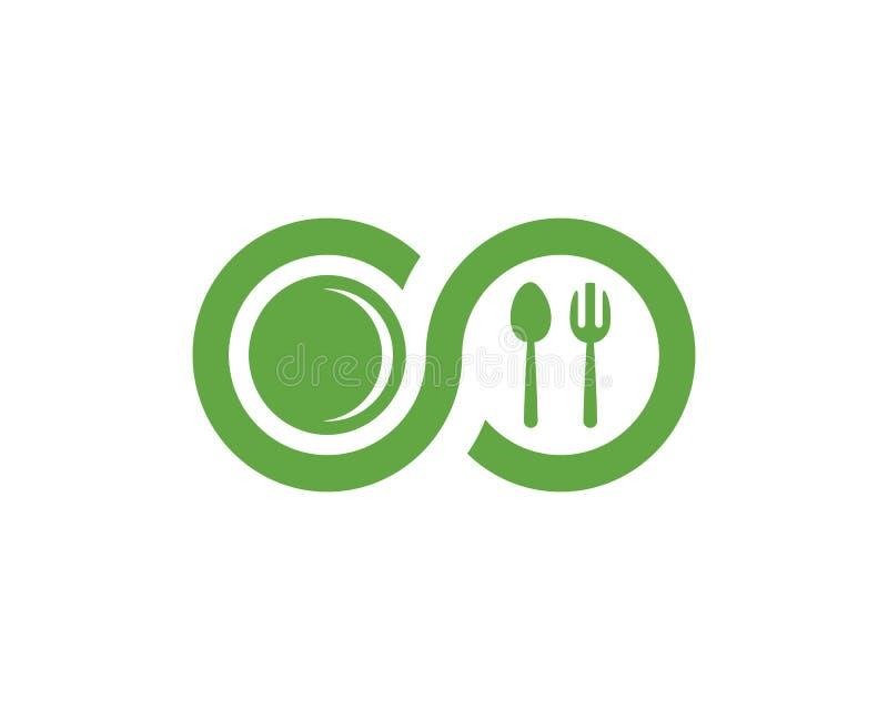 Food logo Template. Vector illustration stock illustration